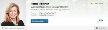 LinkedIn profiilikuva